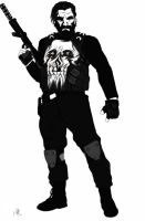 1 hour redesign: The Punisher by MatthewRoyale