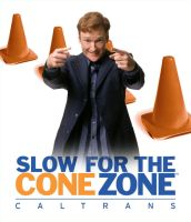 Slow for the Cone Zone by Konstance