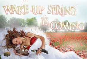 wake up, spring is coming by MlleSunshine