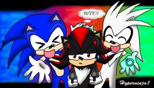 Sonic Shadow and Silver by Hyperninja1