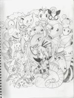 Pokemon Party by TheRealPennyLane