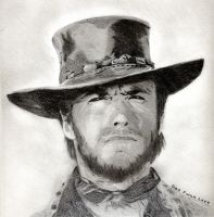 "Clint ""The Good"" Eastwood by GazF"