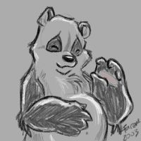 Panda for Njim heehee by fareme