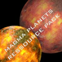 Magma planets ressource pack by Bull53Y3