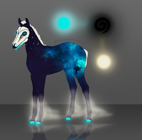 DN Foal | Galaxy by PhenixFyre
