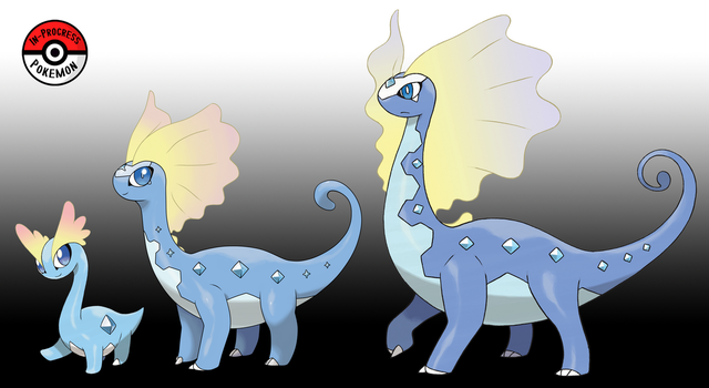 698 - 699 Amaura Line by InProgressPokemon