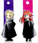 Ginny and Draco bookmarks by Danime-chan