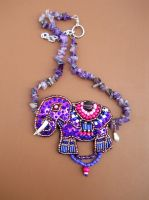Indian elephant pendant 1 by AniDandelion