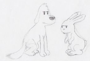 Quadruped Sam and Max by StrongBrush1