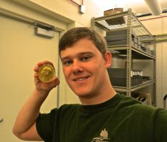 Holding The Nobel Peace Prize by Parsonus