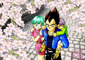 Dragon Ball Z: Vegeta x Bulma (3) by Samy-Consu