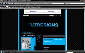 My Myspace v2 by JBat