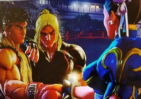 R/CL Street Fighter 5 Moment by SmoothCriminalGirl16