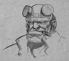Hellboy 002 by allanced