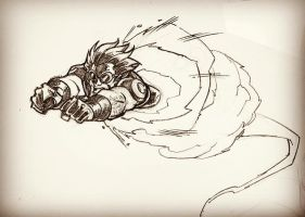 CannonBall sketch by dtoro