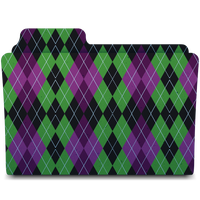 Purple and Green Flannel by Tristan-Daniel