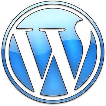 WordPress Glass Logo by Th3-ProphetMan