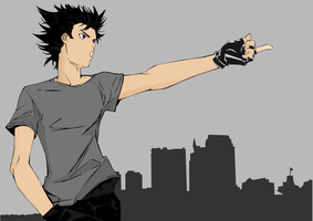 Air Gear: This Is Our City by MD3-Designs