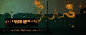 Night Bus by Mr-Marzipan