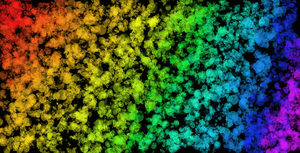 Rainbow Splattered Background by CrystalDeviant