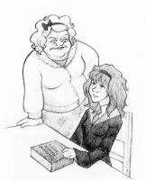 the one teacher Hermione hated by laerry