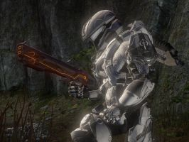Halo 4: The Angel of Blades by purpledragon104