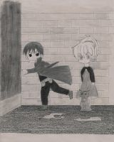 Darker Than Black Chibis by Bryar33092