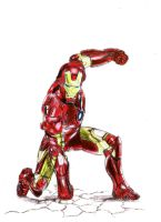 I am Iron Man _color_ by Marsaliath