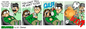 EWCOMIC No.137 - Dentist by eddsworld