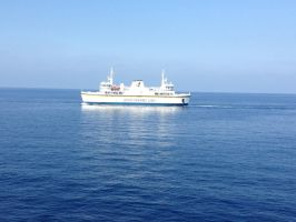 Gozo Channel Ferry by Cr7NeTwOrK