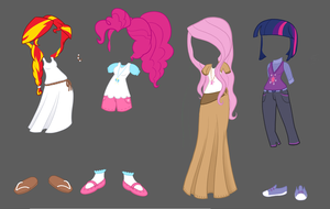 Even More Outfits by TheCheeseburger