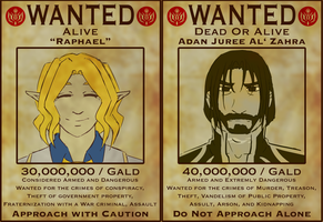 Riers Most Wanted by silver-dragonetsu