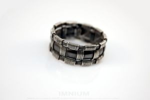 Manly men's ring by IMNIUM