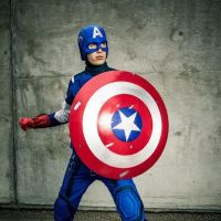 Captain America from Avengers by indyjones78
