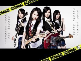 SCANDAL band by revenant4994