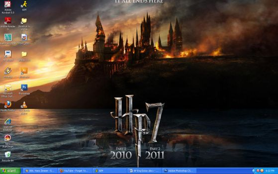 Harry Potter Wallpaper by BlaqkElectric