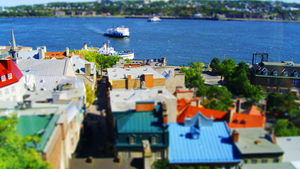 Tiltshift Quebec City by morphemedias