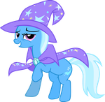 the great and powerful Trixie by Vector-Brony