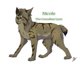 Nicole The Canadian Lynx by Amy8910GNMS