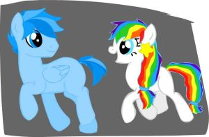 2 more MLP OC's by Anime-is-my-Saviour