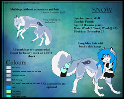 Snow Ref 2011 by SnowyCakes
