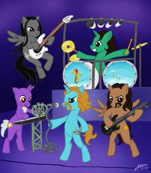 Dream Theater Ponies by Euronymousa
