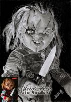 Chucky o brinquedo assassino by Netoarts