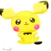 Pichu by NeverWastedTime