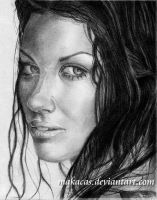 Evangeline Lilly by Makacas