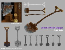 Jenal's Ditch Digger by Proxzee