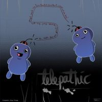 Telepathic Blue Things by 12d3
