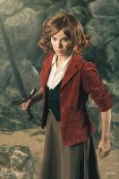 Cosplay Bilbo Baggins female version by Anastasya01