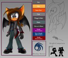 Reference: Raziel The Bat by BIGDON1992