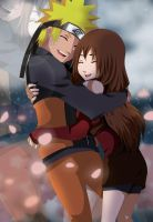 Commission:Naruto and Akiko by GummyDrive